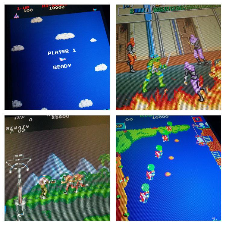 Konami arcade games