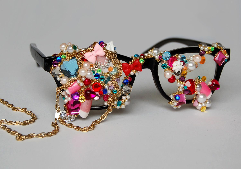TokyoUP! Bejeweled Glasses