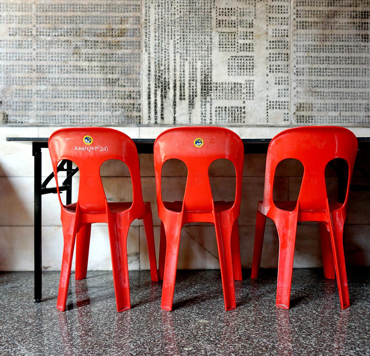 Chairs in Penang, Malaysia