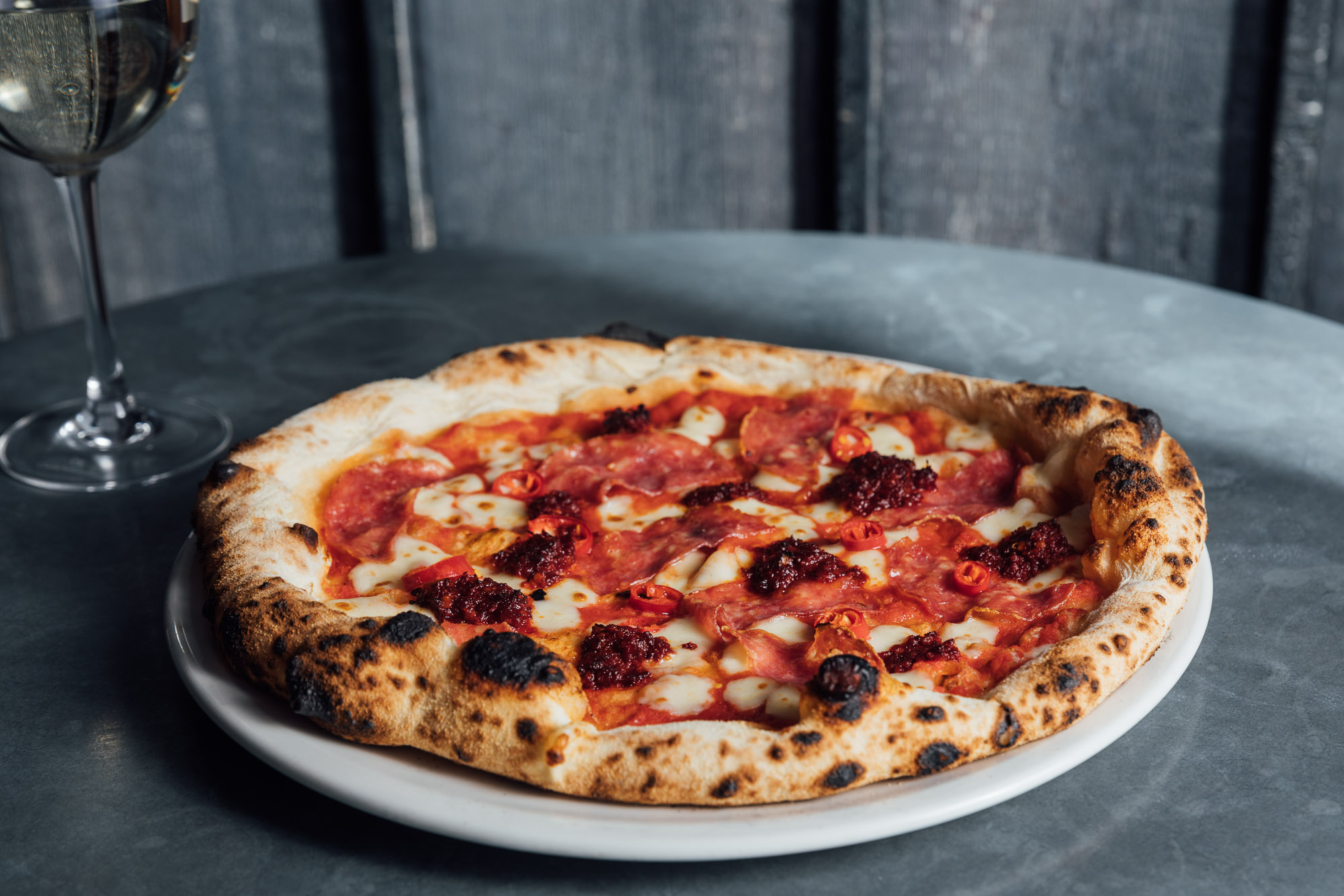 Authentic Napoli Forte Pizza at The Beech House pub and restaurant in Amersham Buckinghamshire.jpg