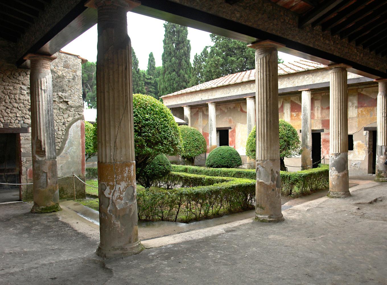 ATRIUMHAUS IN POMPEJI, 70 N. CHR.