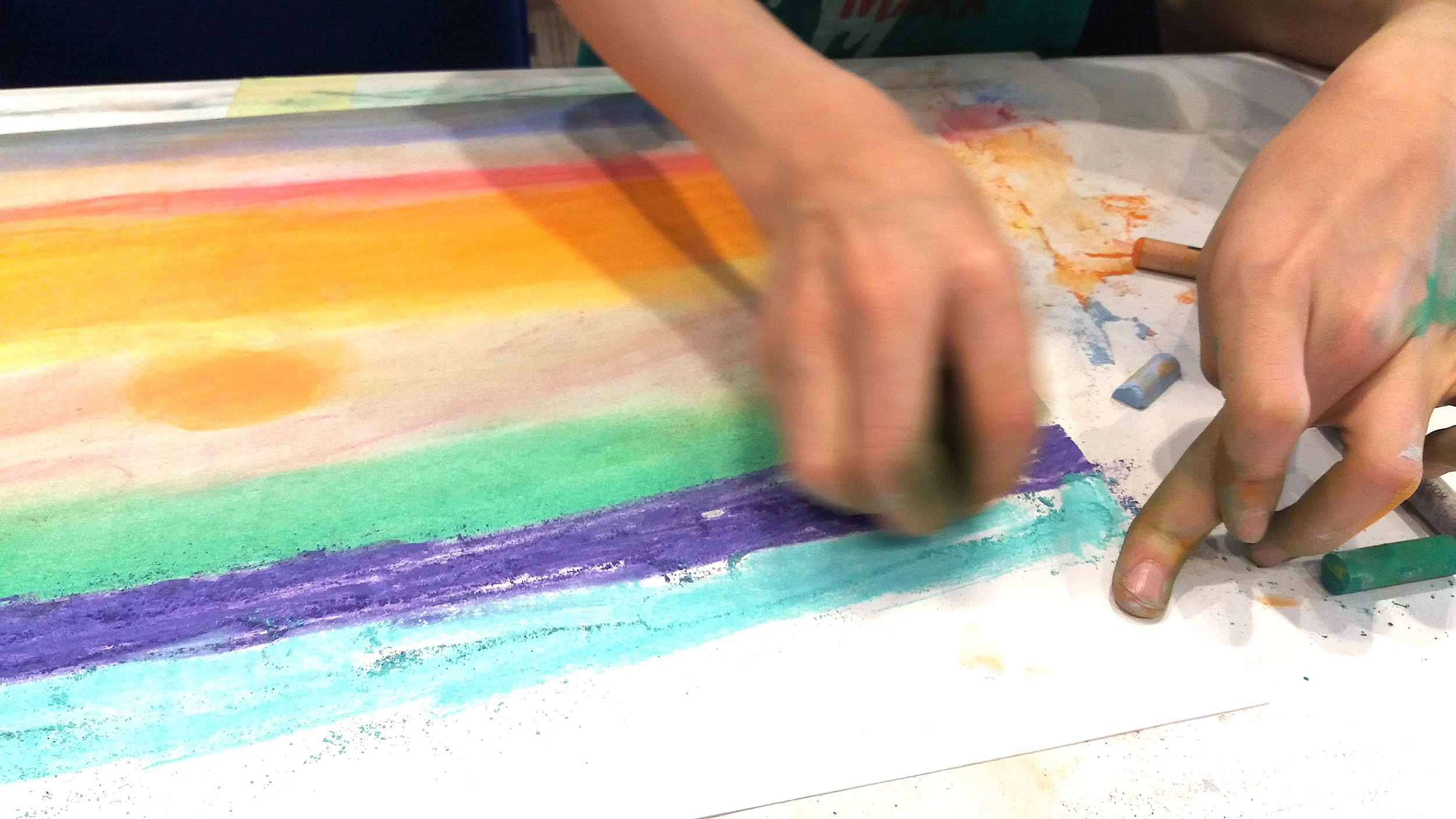 Techniki Tworzenia Obrazu - pastele