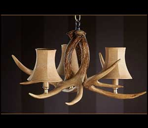 The Ozark Whitetail Antler Chandelier