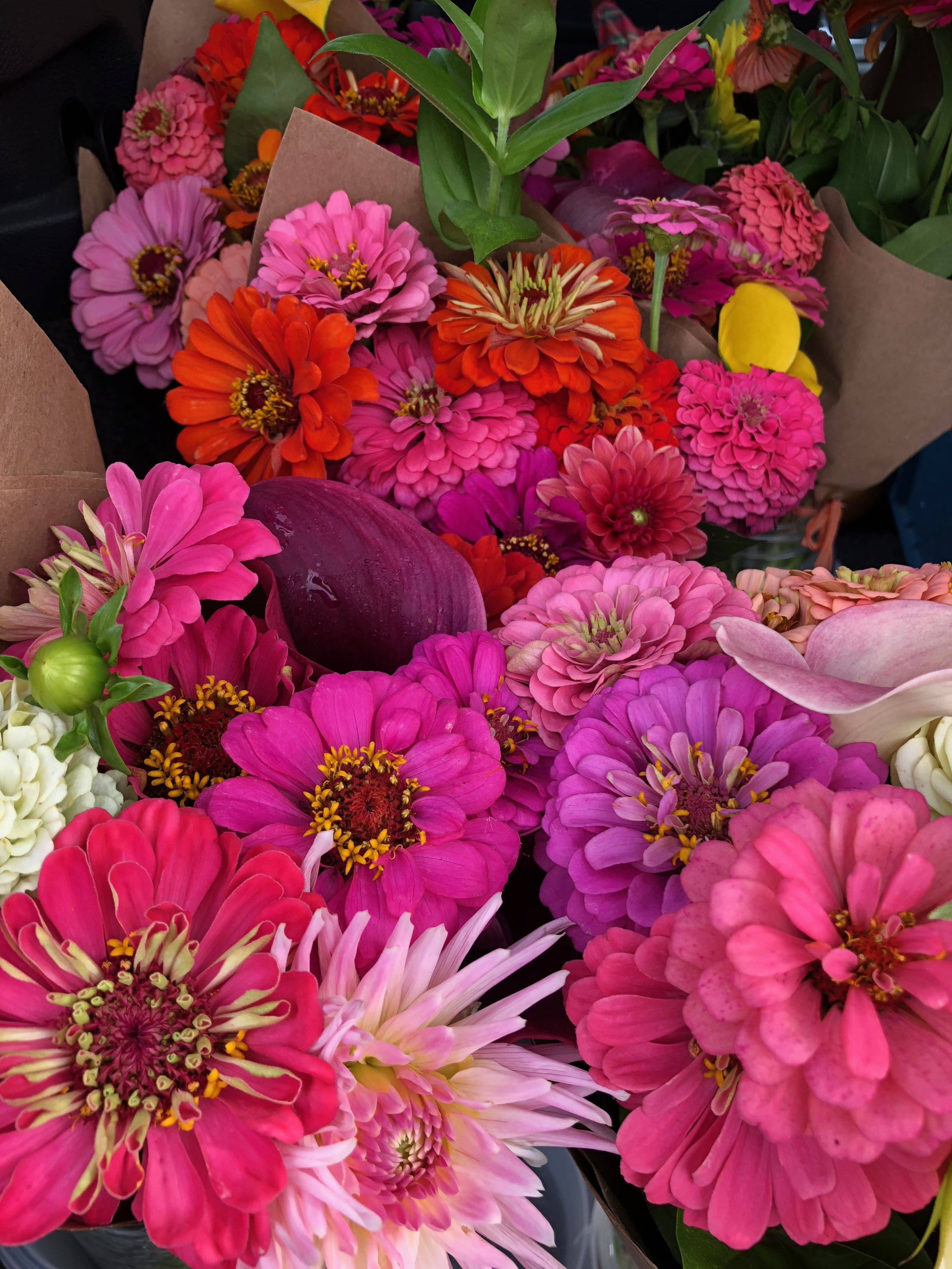 Mid Summer Bouquets