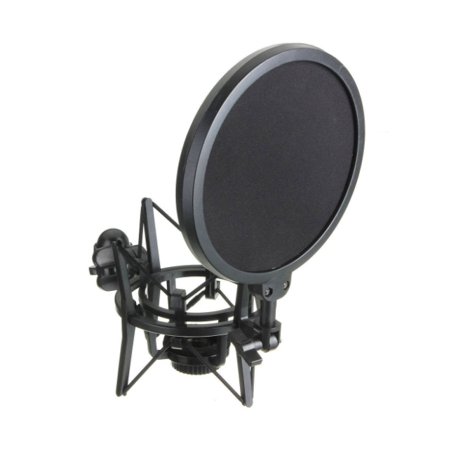 Elegiant Shock Mount with Pop Filter