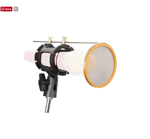 CISNO Metal Windscreen/Pop Filter Combo