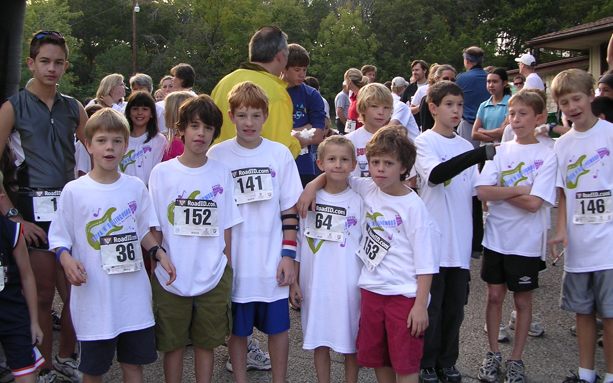 Runners from the 2005 race