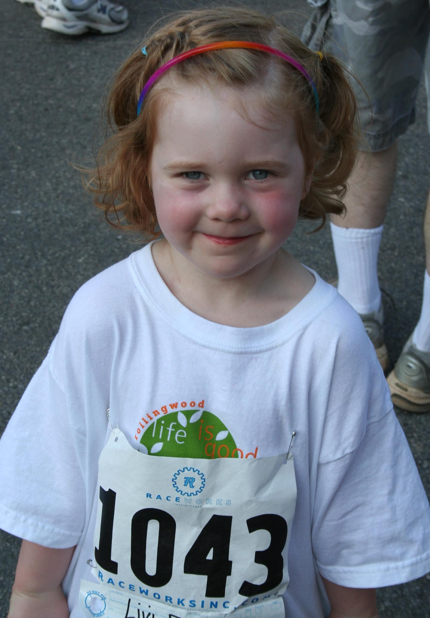 A young runner from the 2011 race