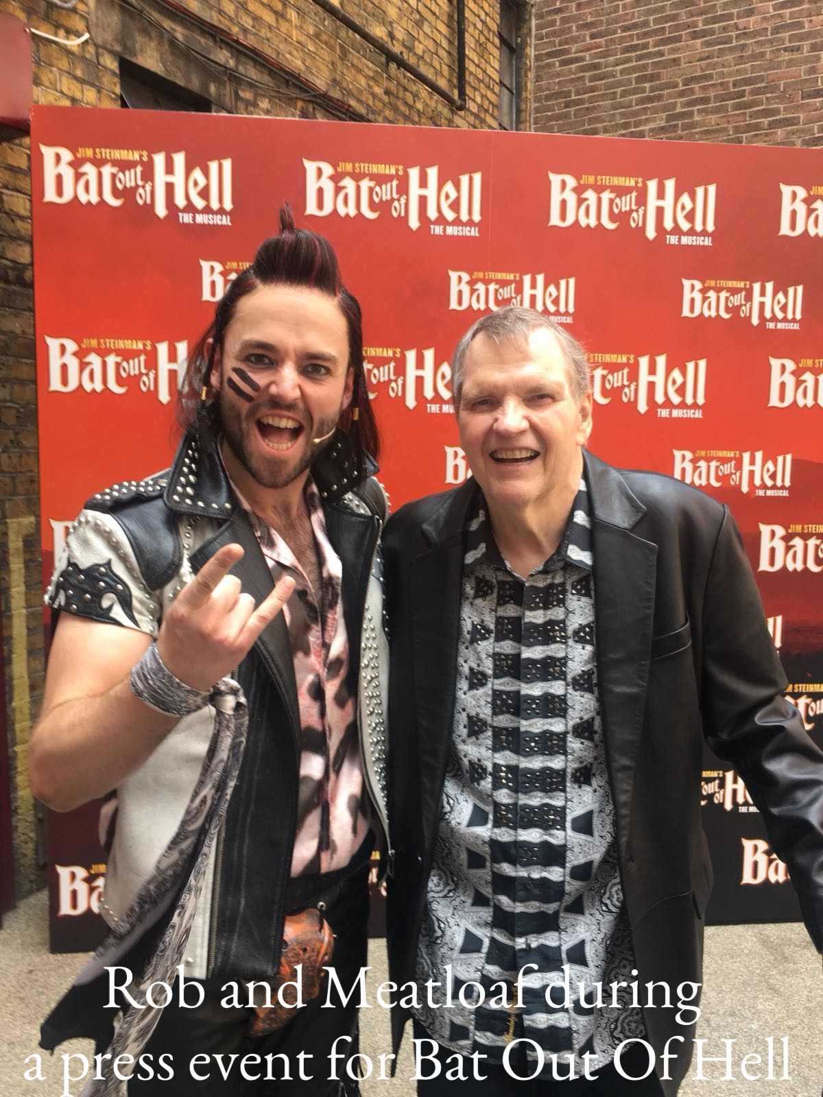 Rob and Meatloaf.JPG