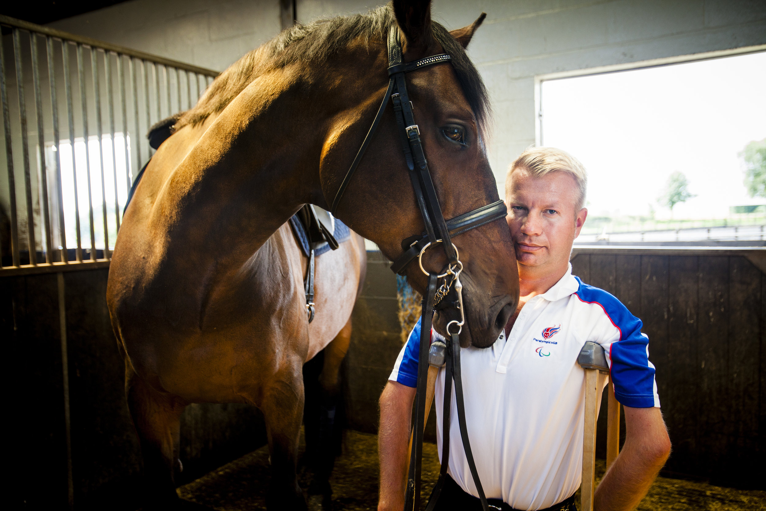 """""""I get embarrassed about how many medals I've won"""" Lee Pearson, Team GB Paralympian."""