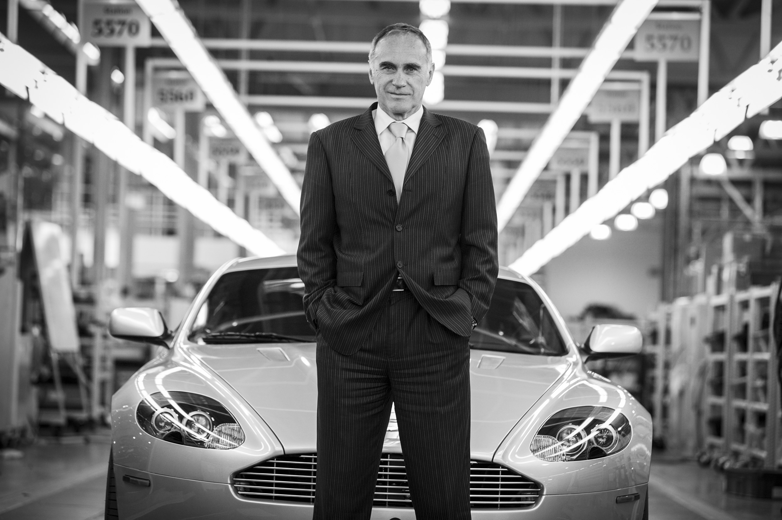"""""""Historically there is a lot of creativity here. Everybody is a car guy, everybody had ideas and knows what to do and how to do it. And if you do not apply a strong leadership then it's a risk you get a patchwork."""" Ulrich Bez, Aston Martin CEO."""