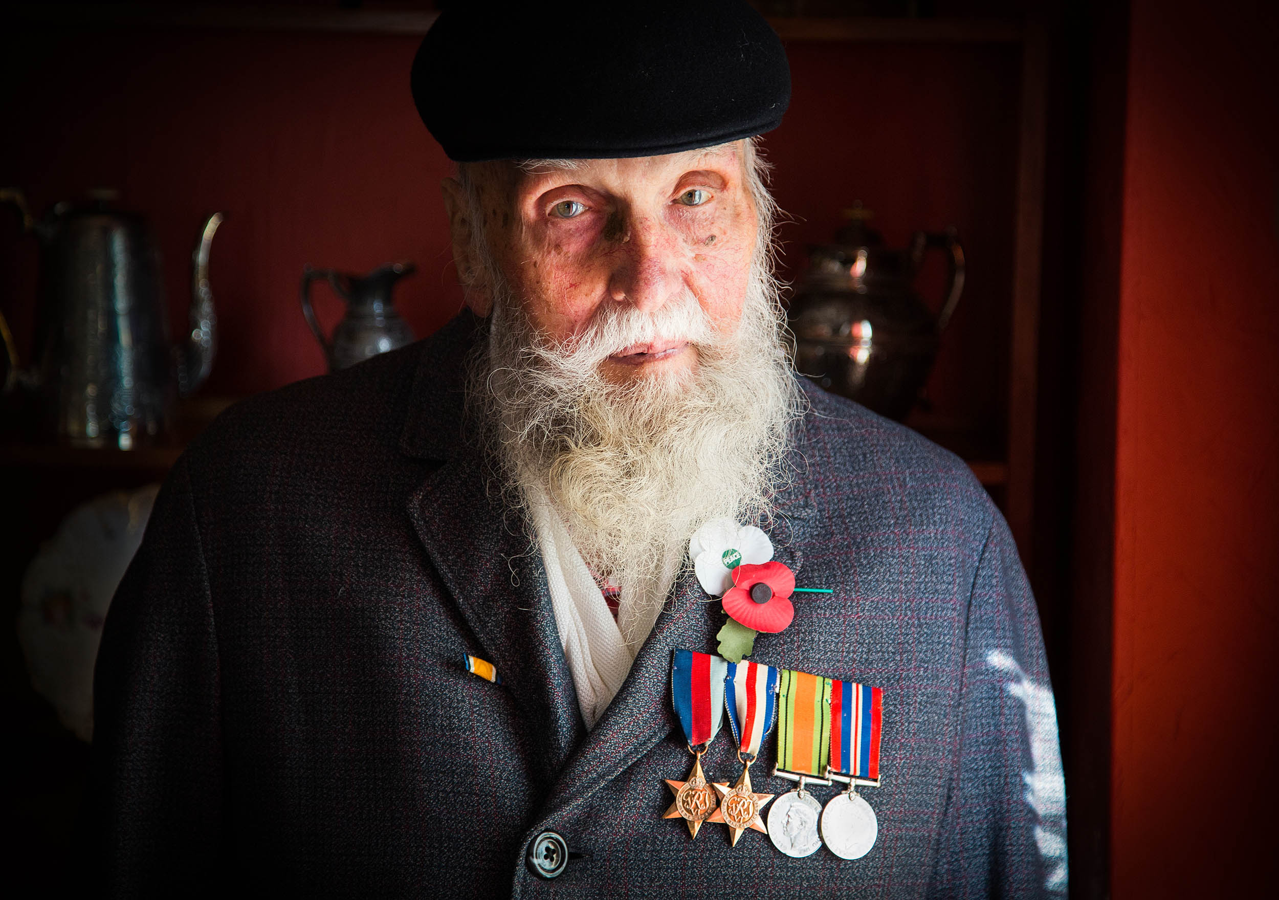 """""""I developed a tendency to fire over people's heads. I had no objection to frightening them. I just didn't want to hurt them."""" George Evans, pacifist war veteran"""