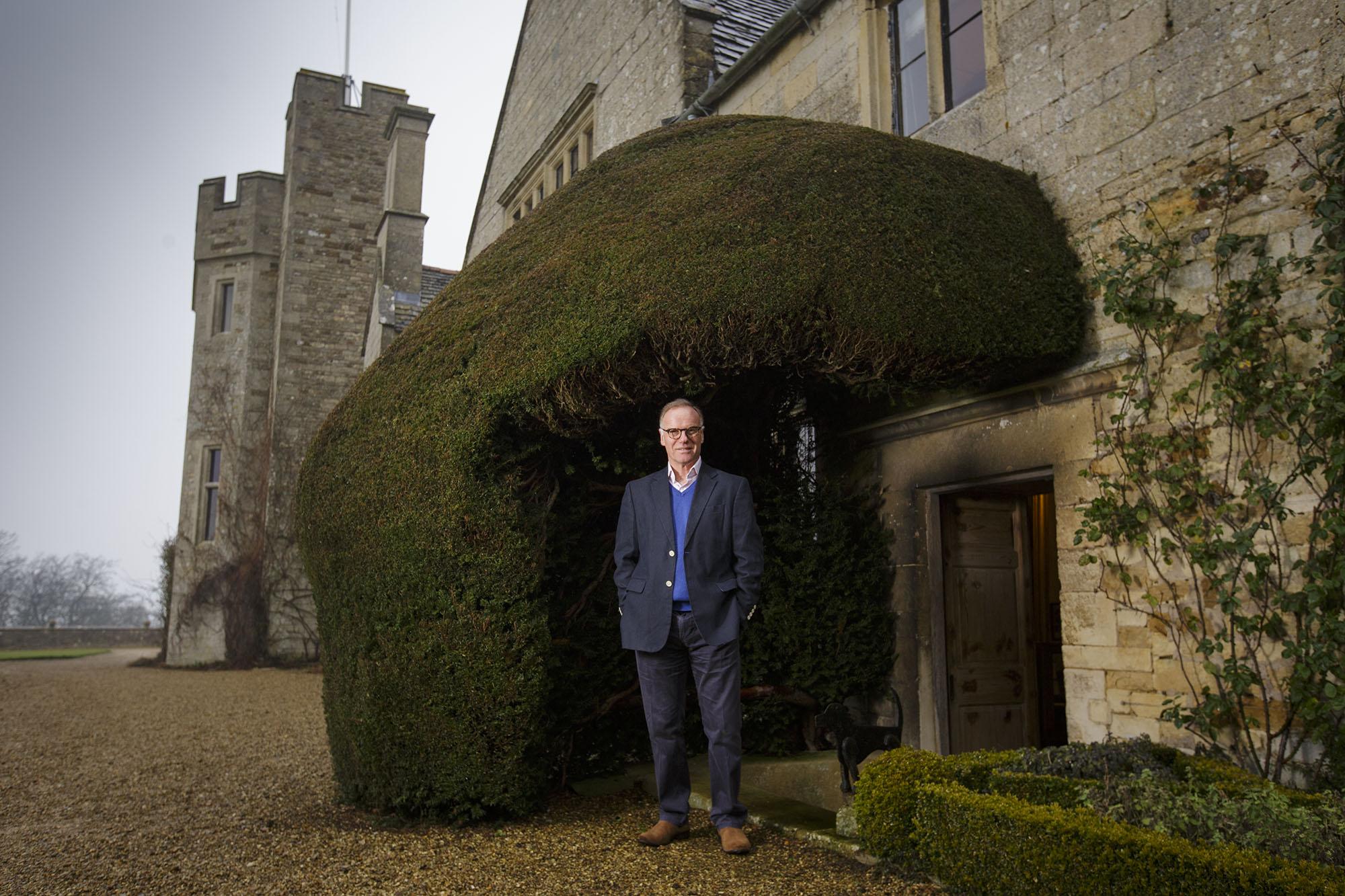 James Saunders Watson, owner of Rockingham Castle