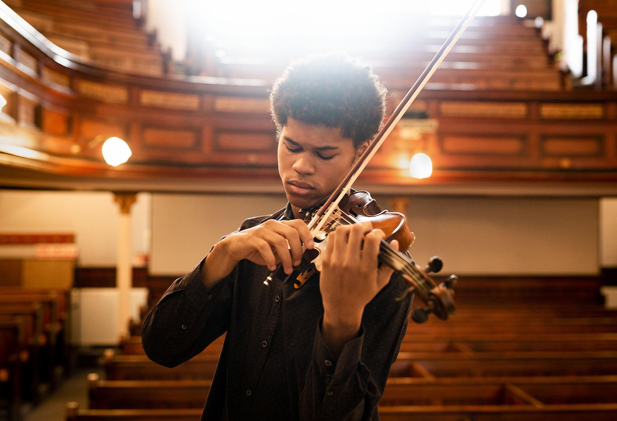 Violinist Braimah Kanneh Mason