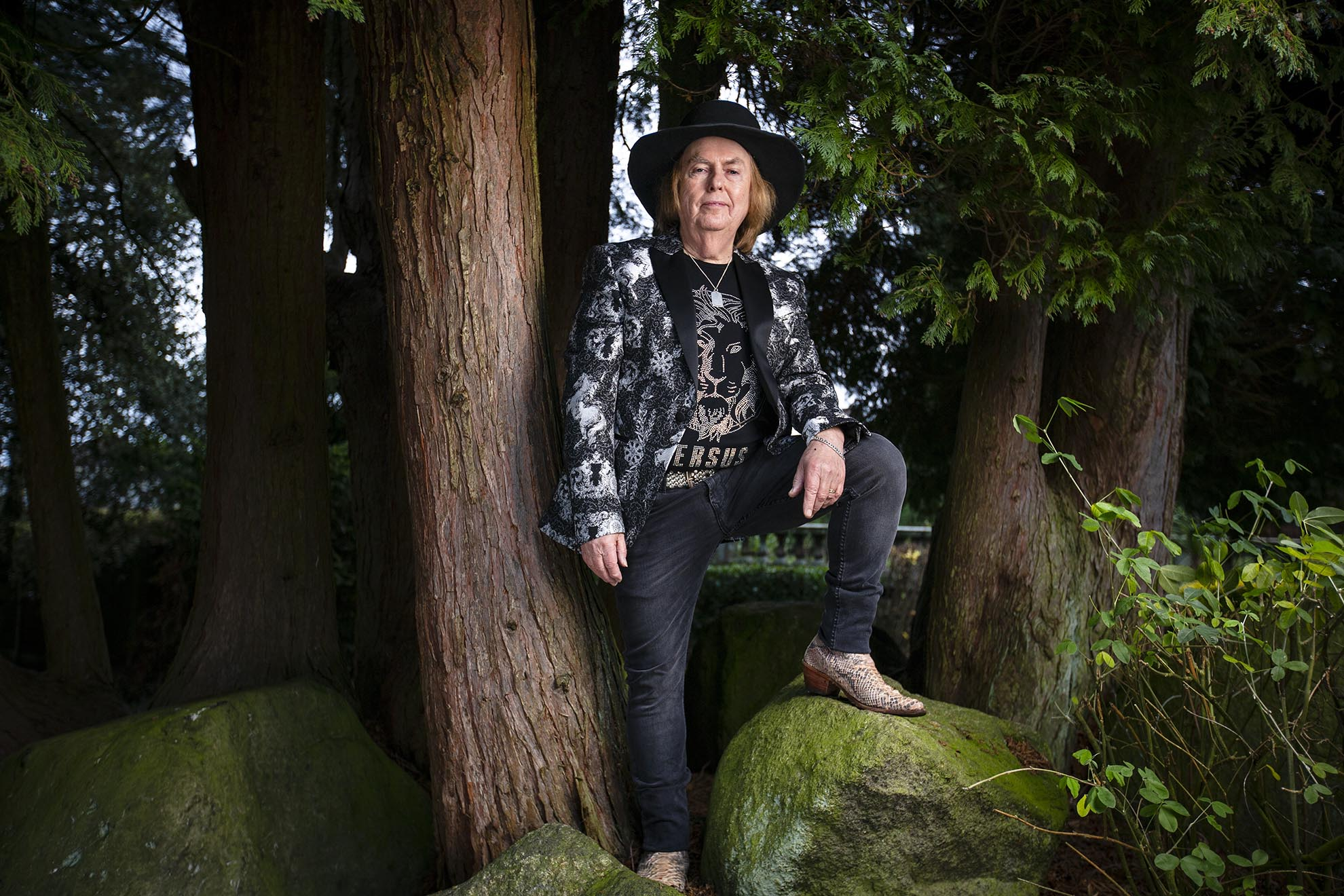 Dave Hill of glam-rock band Slade