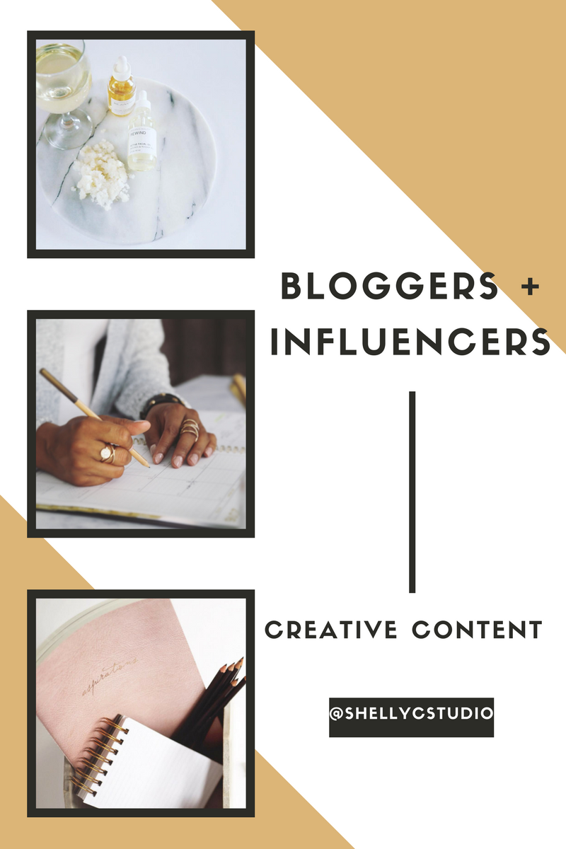 Shelly C. Studio Styled Photography for Bloggers and Influencers