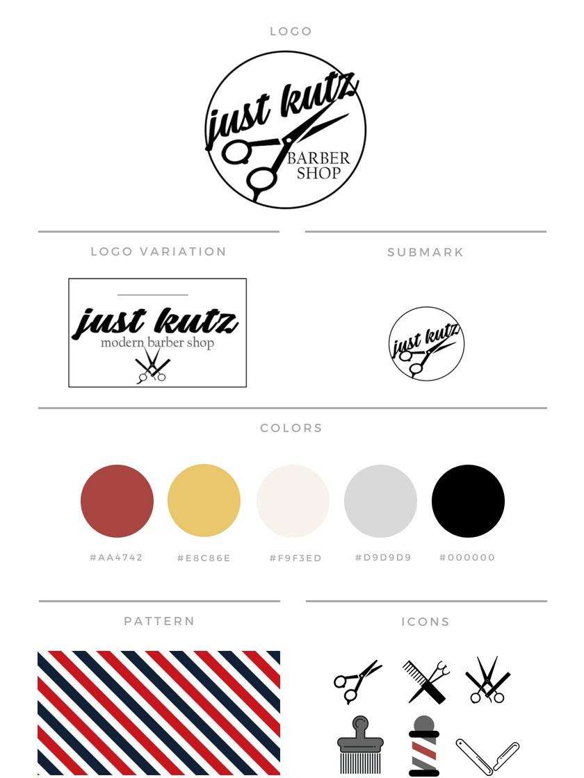 Just+Kutz+Hinesville+Georgia+Brand+Development+by+Shelly+C+Studio+%7C+Shelly+C+Studio+Savannah+Georgia+Graphic+Design