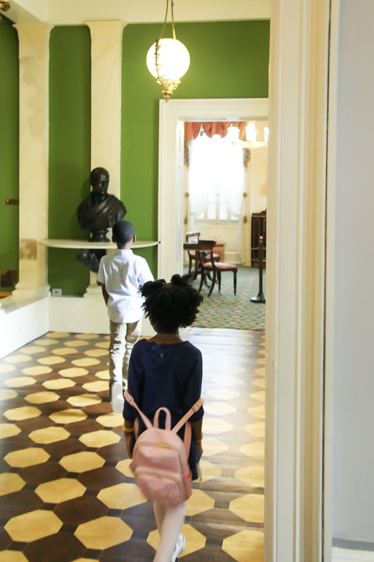 Shelly C Lately Visits Telfair Museums in Savannah GA. Single Mom & Lifestyle blogger Shelly Carpenter travels with children. Owens-Thomas House