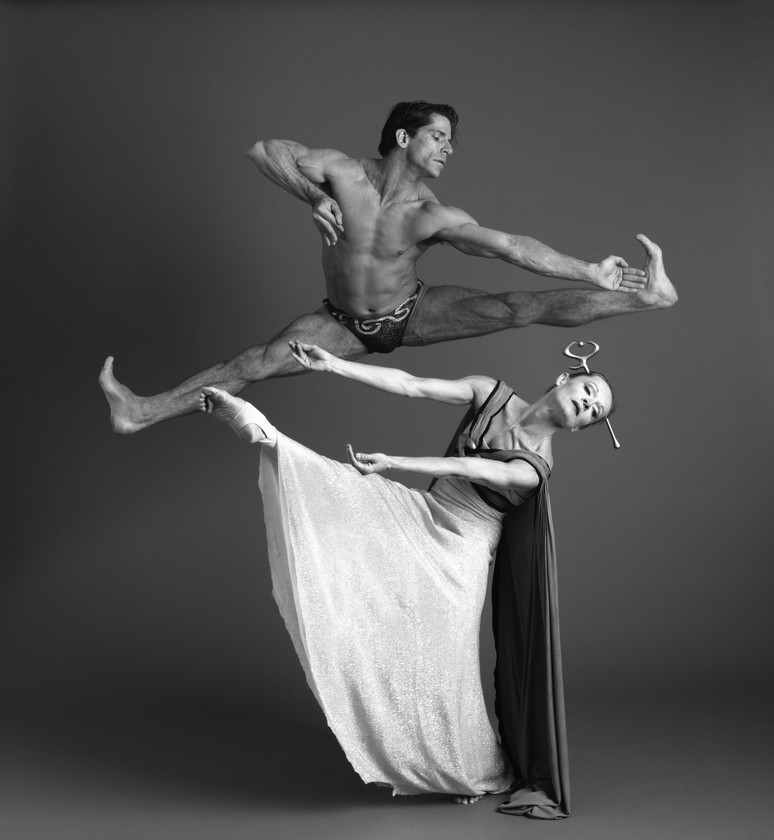 Christine Dakin and Kenneth Topping, former Principals of the Martha Graham Dance Company