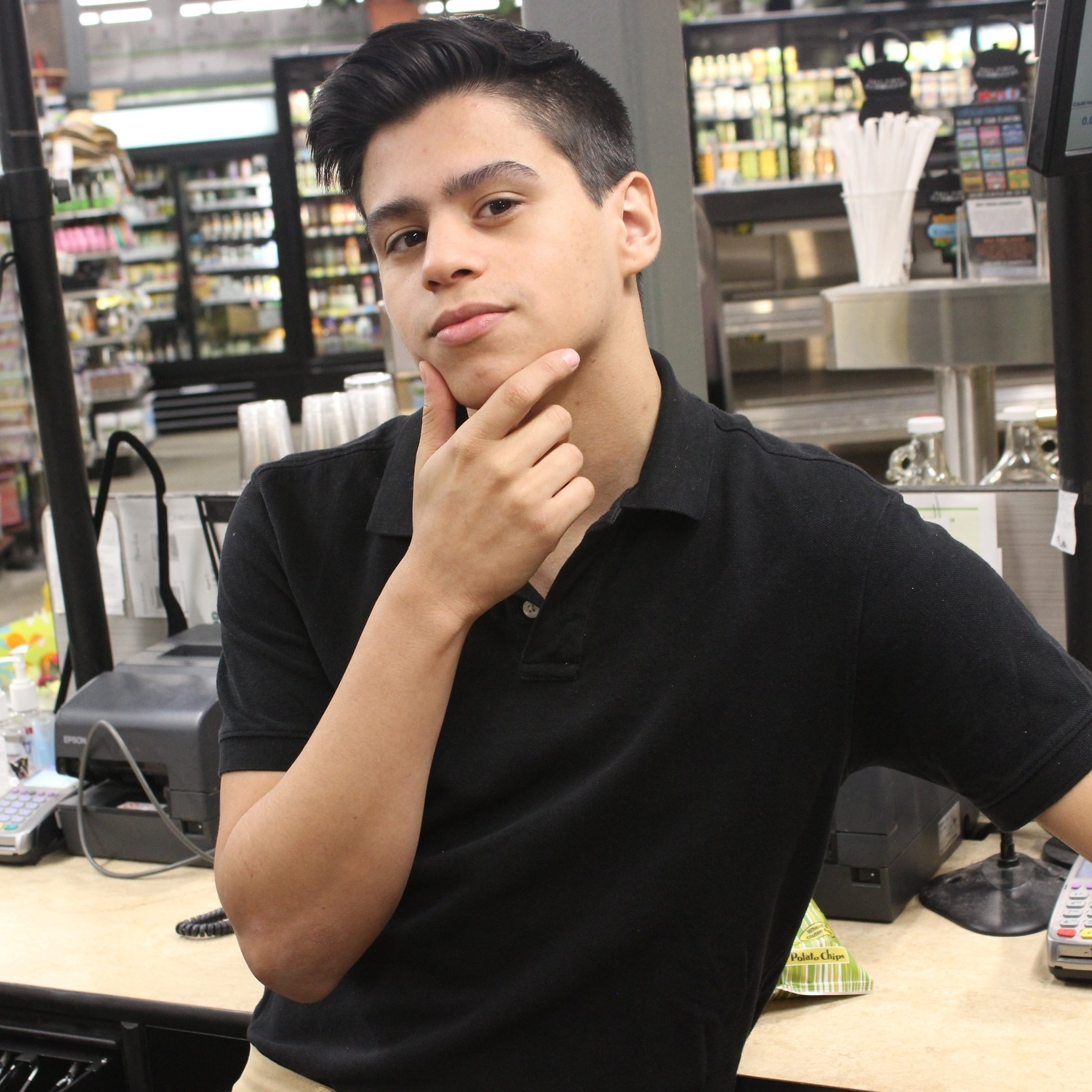 Gabriel Camacho - High schooler by day, aspiring actor by night, germaphobe all the time...
