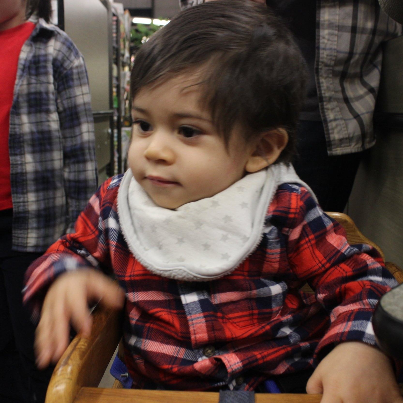 Orion Rivera-Colón - A tiny man trapped in a baby's body. Loves to laugh, explore, & destroy.