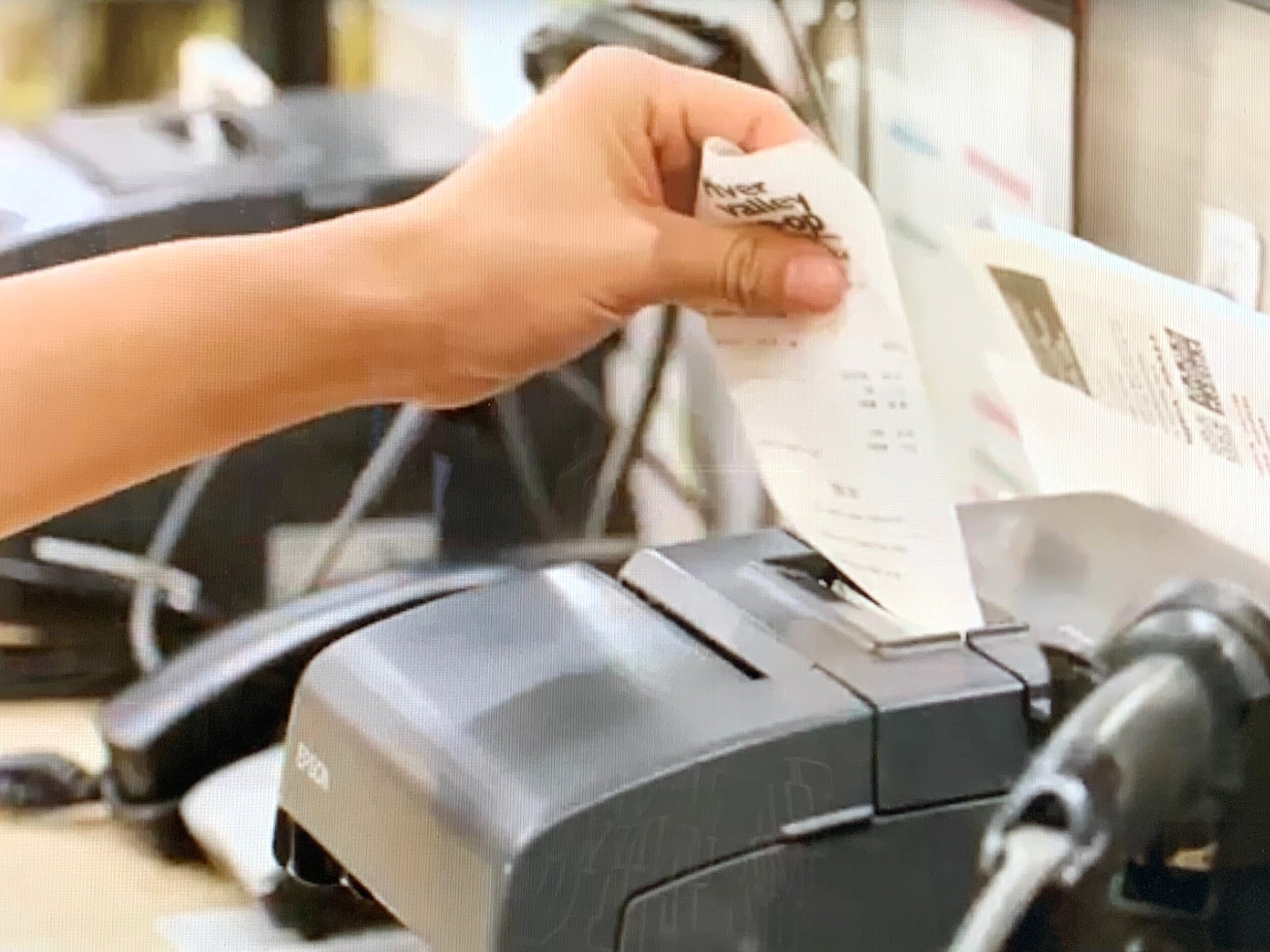 Receipts aren't the only products printed on thermal paper with bisphenols. Many movie tickets, bus and airline tickets, parking tickets, mailing labels, prescription bottle labels, deli labels, blood draw labels, and more are printed on thermal paper!