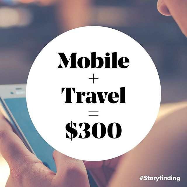 Google found that marketers assume travelers research and book on mobile only when needs are explicit.  Turns out, in a 30-day period, 31% of consumers turned to mobile seeking discounts or offers. When they find what they're looking for, travelers are willing to convert on mobile, spending an average of $299.50.  It's important to note that it's not just about air/hotel discounts - it's about enhancing the overall trip by reserving a table at a local restaurant or booking an excursion or spa day. By deconstructing what $300 can get people, travel and non-travel brands could actually help build repeatable mobile-first experiences.  #Storyfinding, #Travel, #Discounts, #Mobile, #local  Source: Google/Ipsos Travel on Mobile 2017