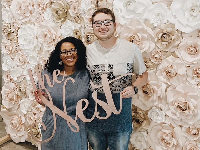 Say hello 👋🏻 to this adorable couple — we can't wait to celebrate them on their big day at The Nest 🖤🎉
