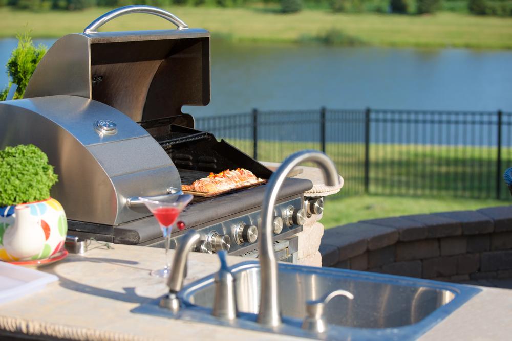outdoor kitchen OKC