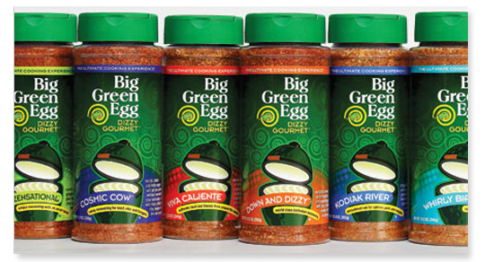 Big Green Egg Spices, Sauces & Rubs