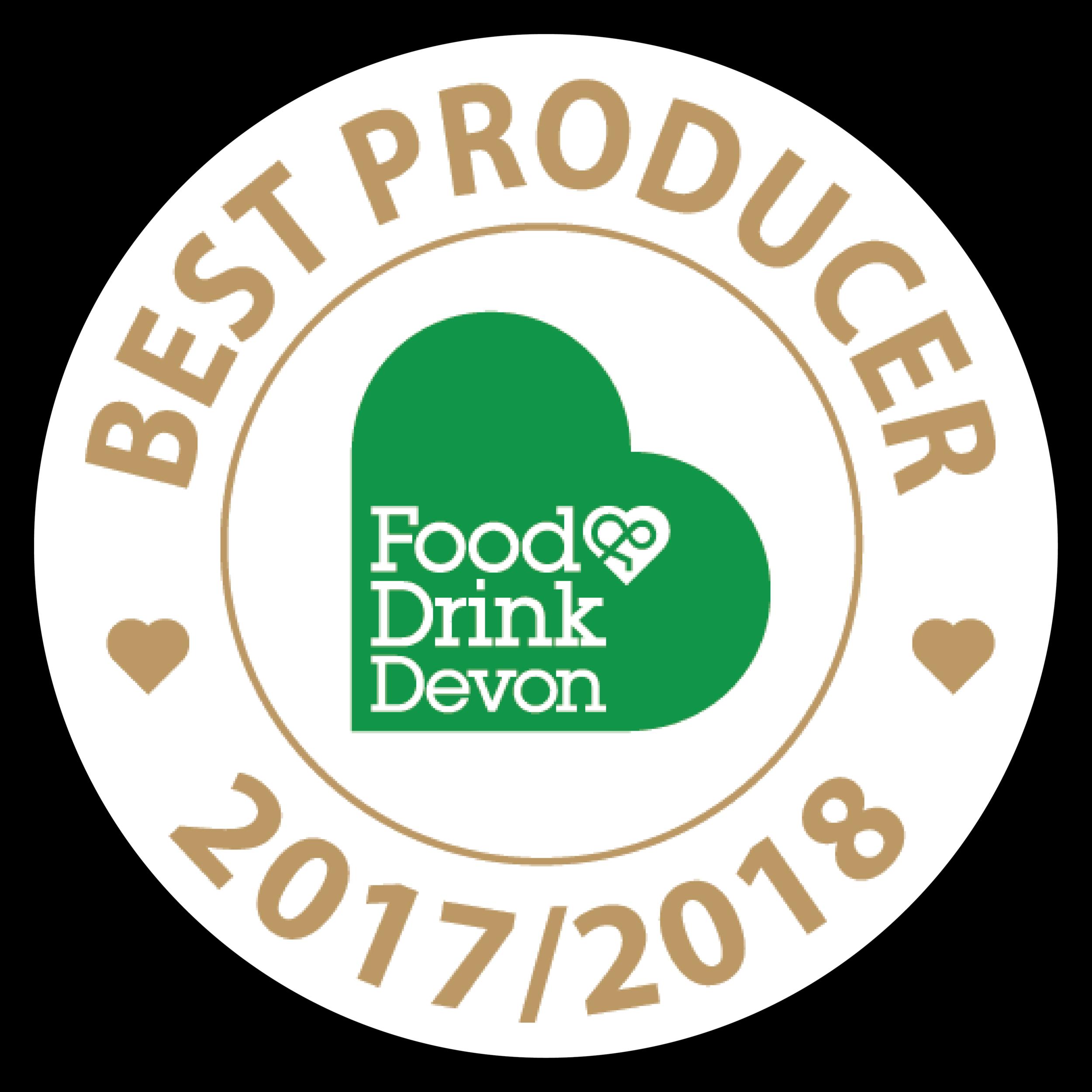 Food & Drink Devon Best Producer 2017/2018