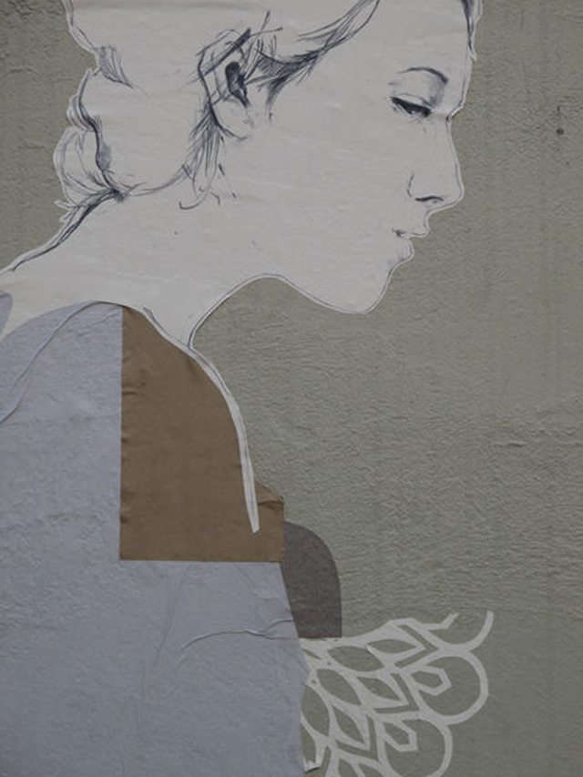 Grafitti de papel