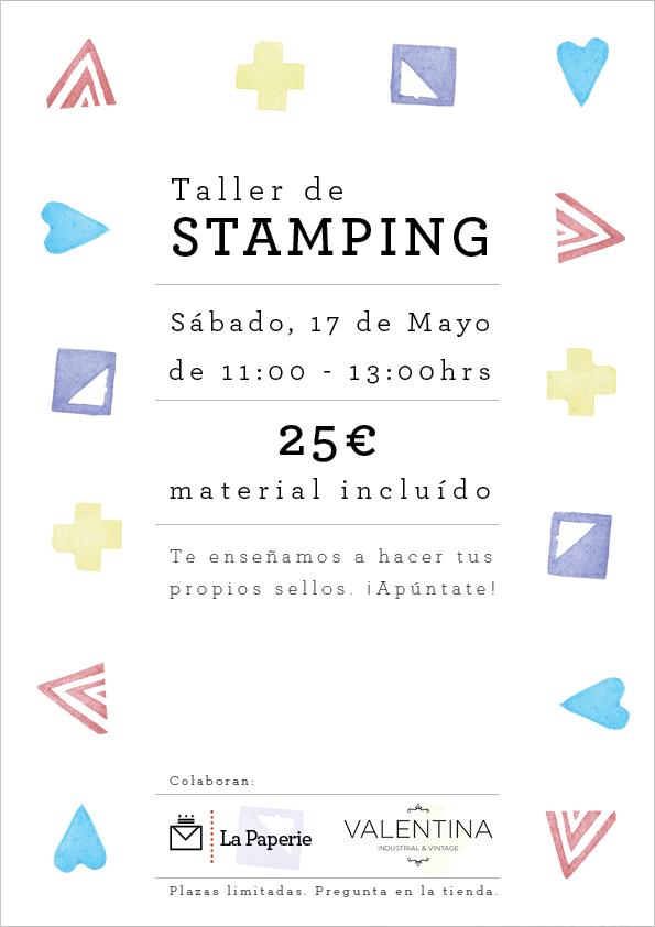 Cartel taller stamping