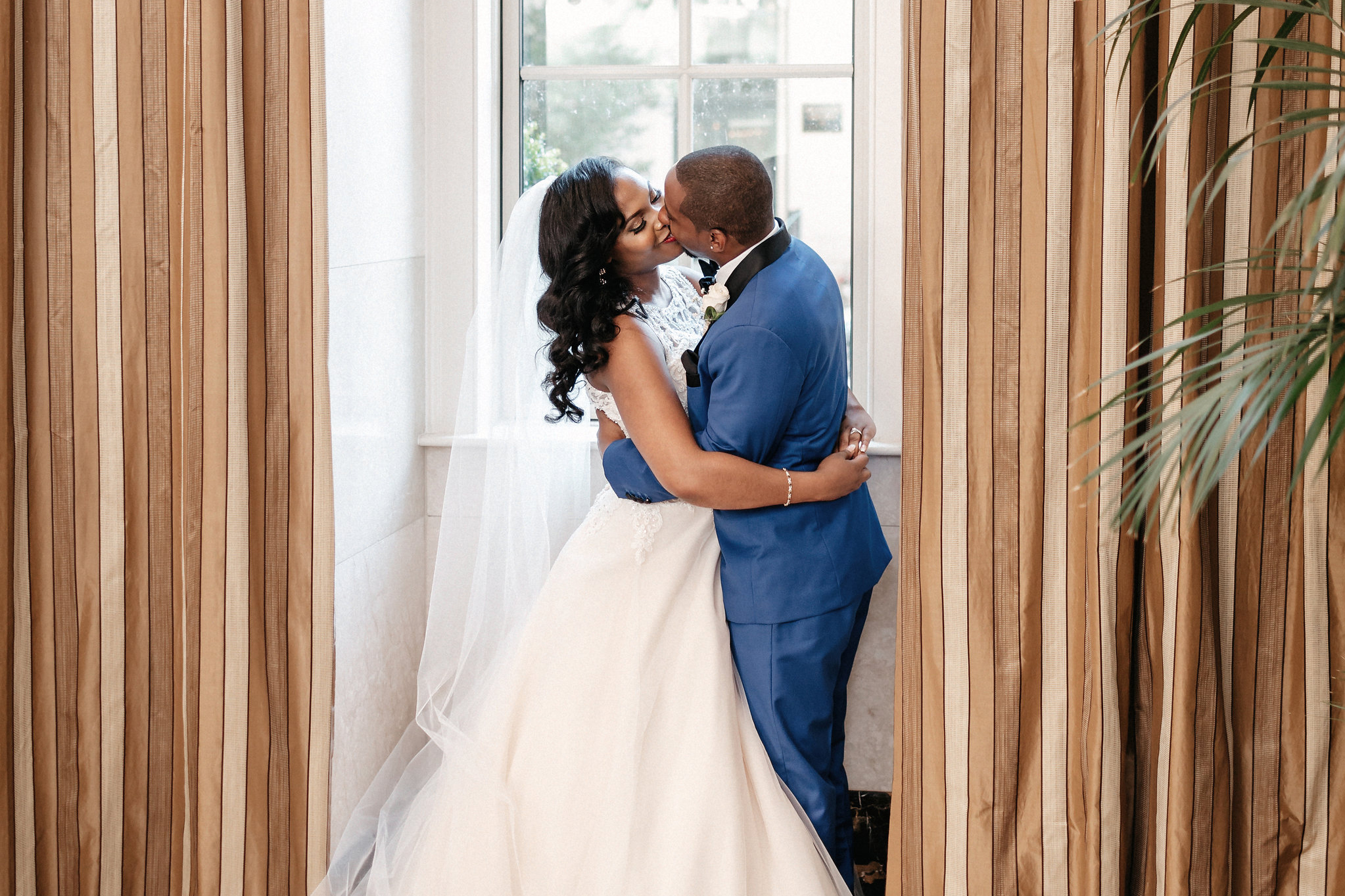 Congratulations, Kendra & Tre - it was a pleasure photographing your wedding day at the beautiful John Marshall Ballrooms! I wish you both so much happiness and best wishes for the future!  Vendors:  Venue: The John Marshall Ballrooms  Wedding Planner/Coordinator:Valerie Matthews with  Storybook Events  Videographer:Marcus Johnson of  Visually Inklined  Florist:  Ivory Morgan-Burton  Cake: WPA Bakery  Band/DJ: Carlton Lilliard Makeup Artist:Melodee Joye of  Joye of Beauty  Hair Artist: Talytha Price of  Healthy Hair Chic   Dress: Allure Bridals, purchased at  Gowns of Grace  Bridesmaids Dresses: Rent the runway  Groom and Groomsmen attire:  Snap Suits  Second Photographer:  Sarah Elizabeth Photography