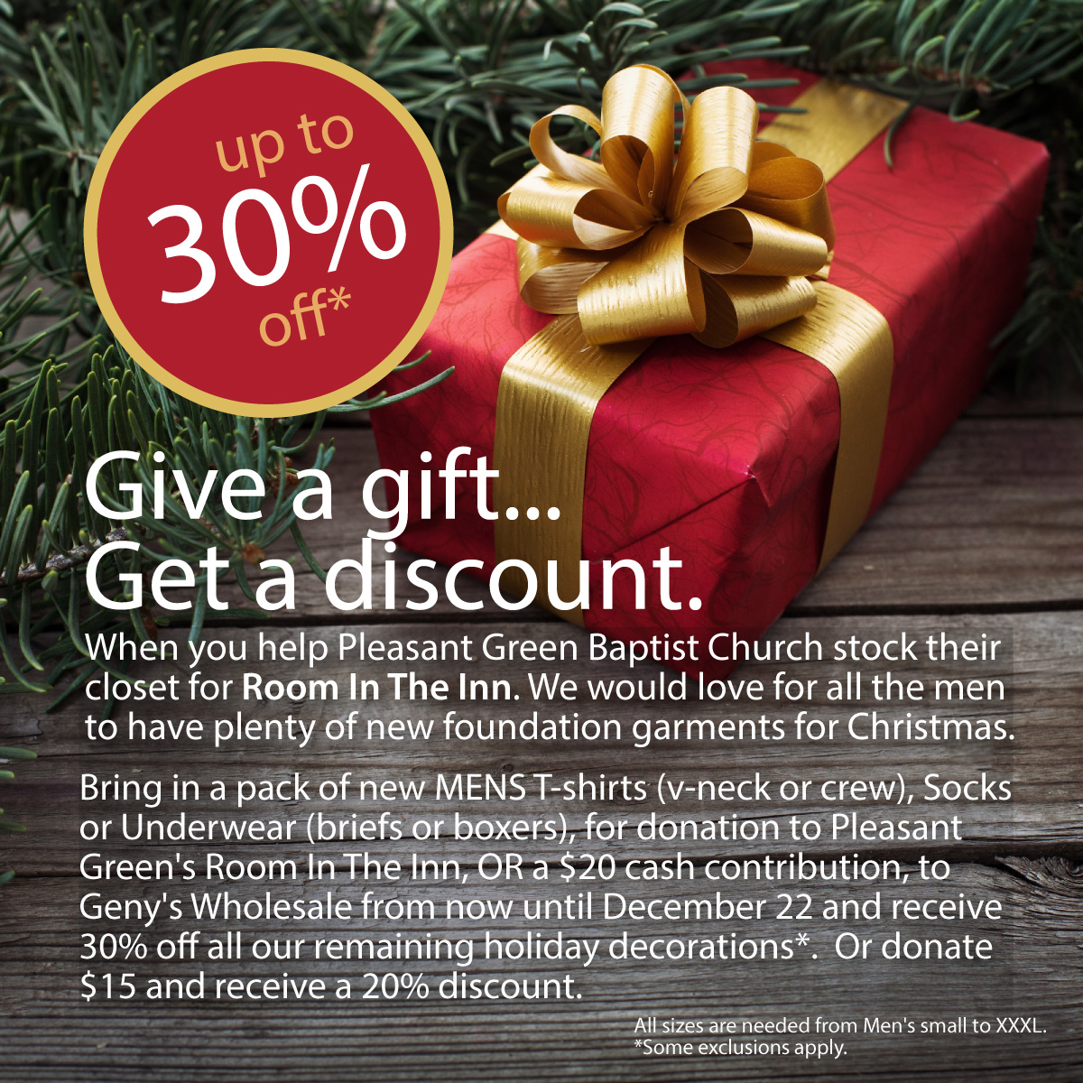 Genys Holiday Decor