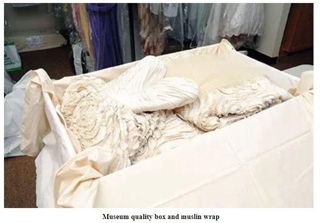 wedding dress preservation