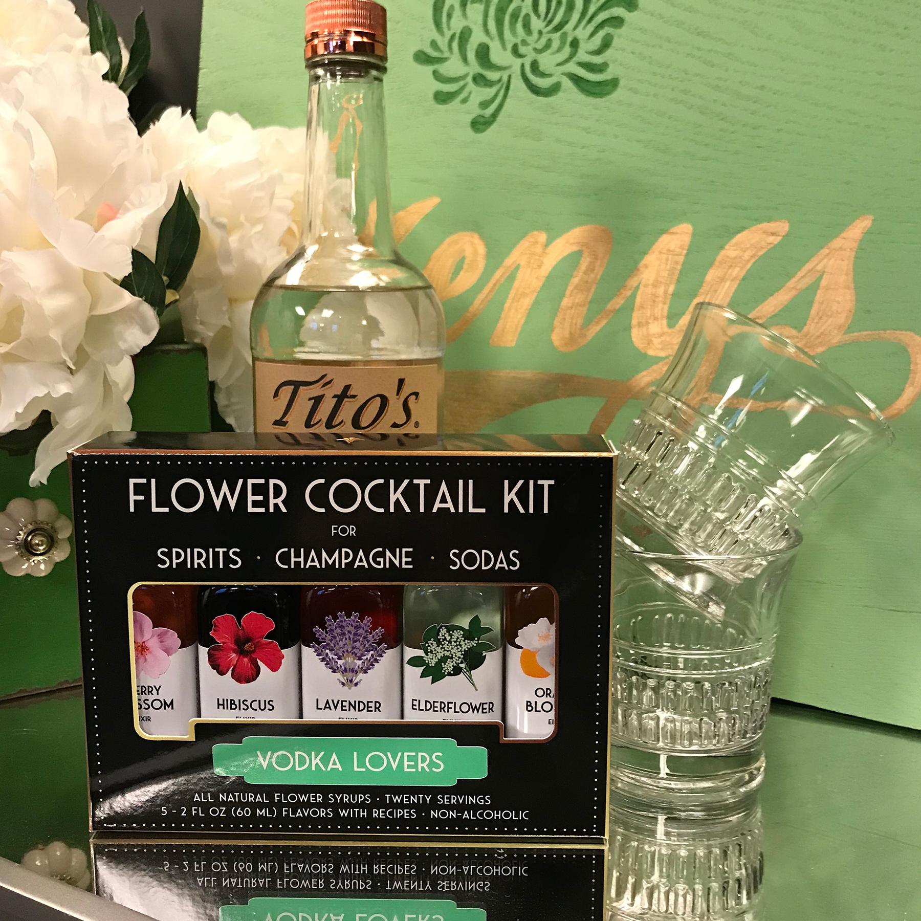 Flower Cocktail Kit, Vodka Lovers