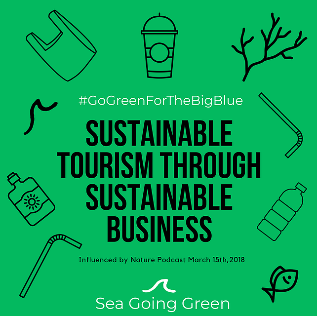sea going green podcast interview ally dragozet sustainable tourism