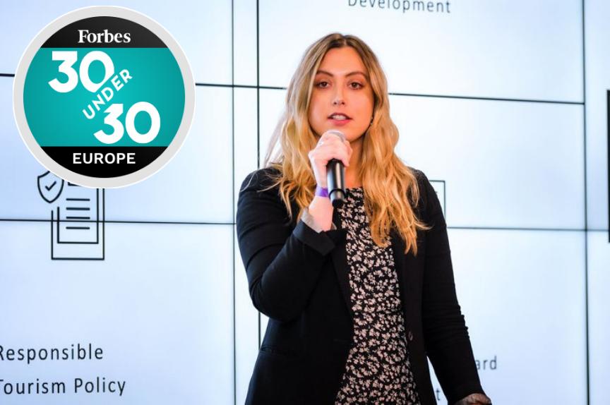 forbes30under30 social entrepreneur ally dragozet sustainability