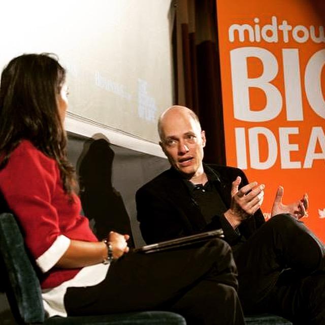 Interview with Alain de botton for Midtown Big ideas 2015
