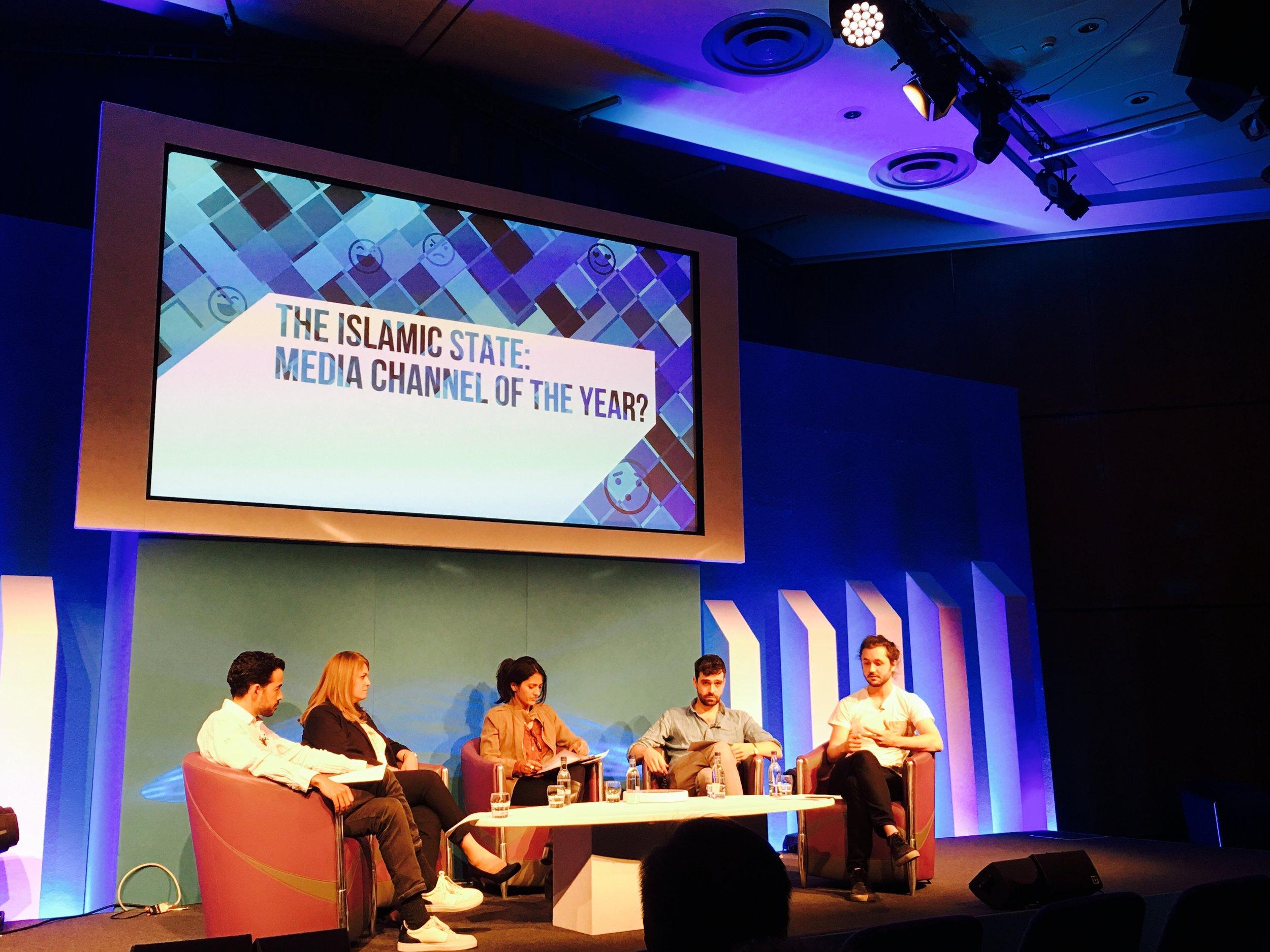 Chair of The Islamic State panel - Edinburgh International TV festival 2016