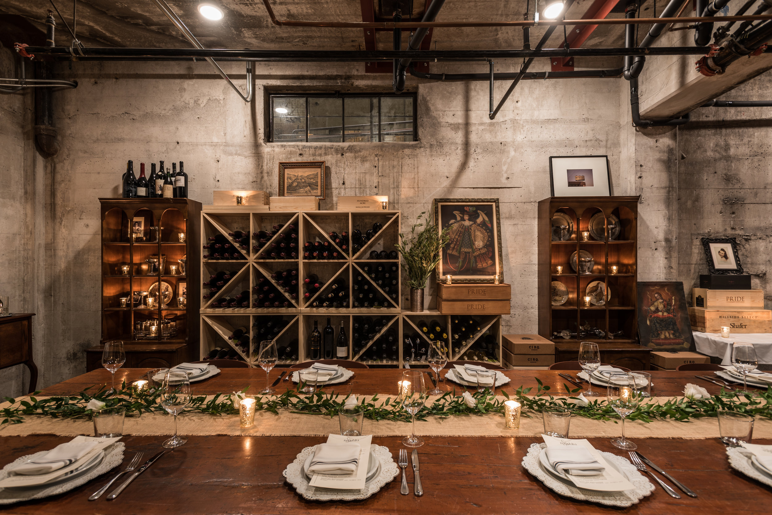 CHEF'S CELLAR (PRIVATE DINING)
