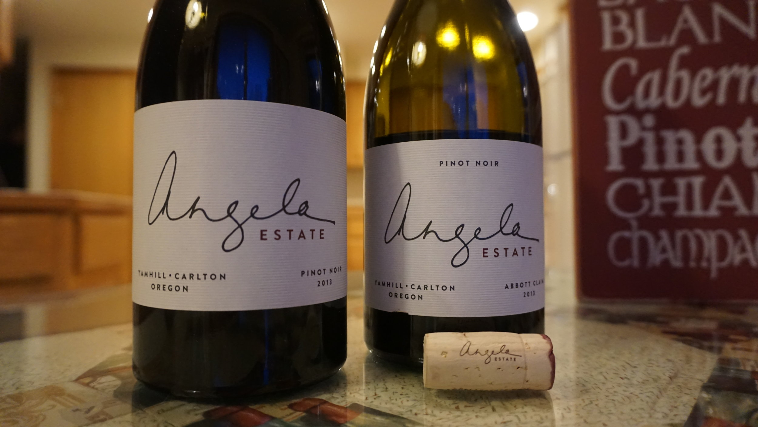 """The 2013 vintage of Angela Estate """"Abbot Claim"""" and Pinot Noir are elegant representations of why Willamette Valley pinot noir has gained international recognition. Viki Eierdam"""