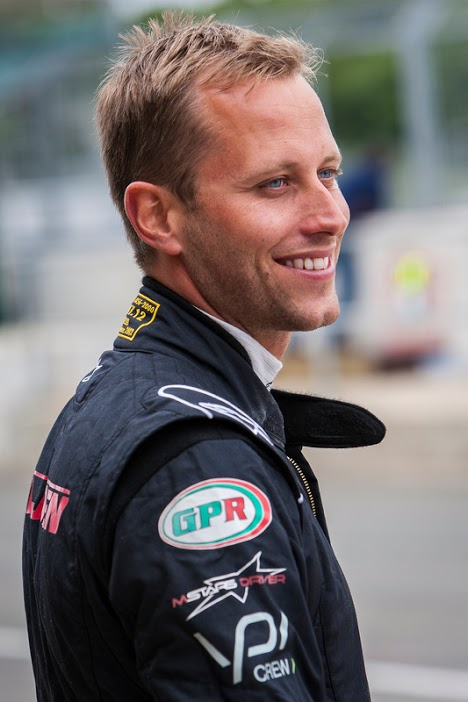 British racing driver, Lars Viljoen, sported the Angela Estate-sponsored car at the 2016 Rolex 24 Hours Endurance Race at Daytona. Photo supplied.