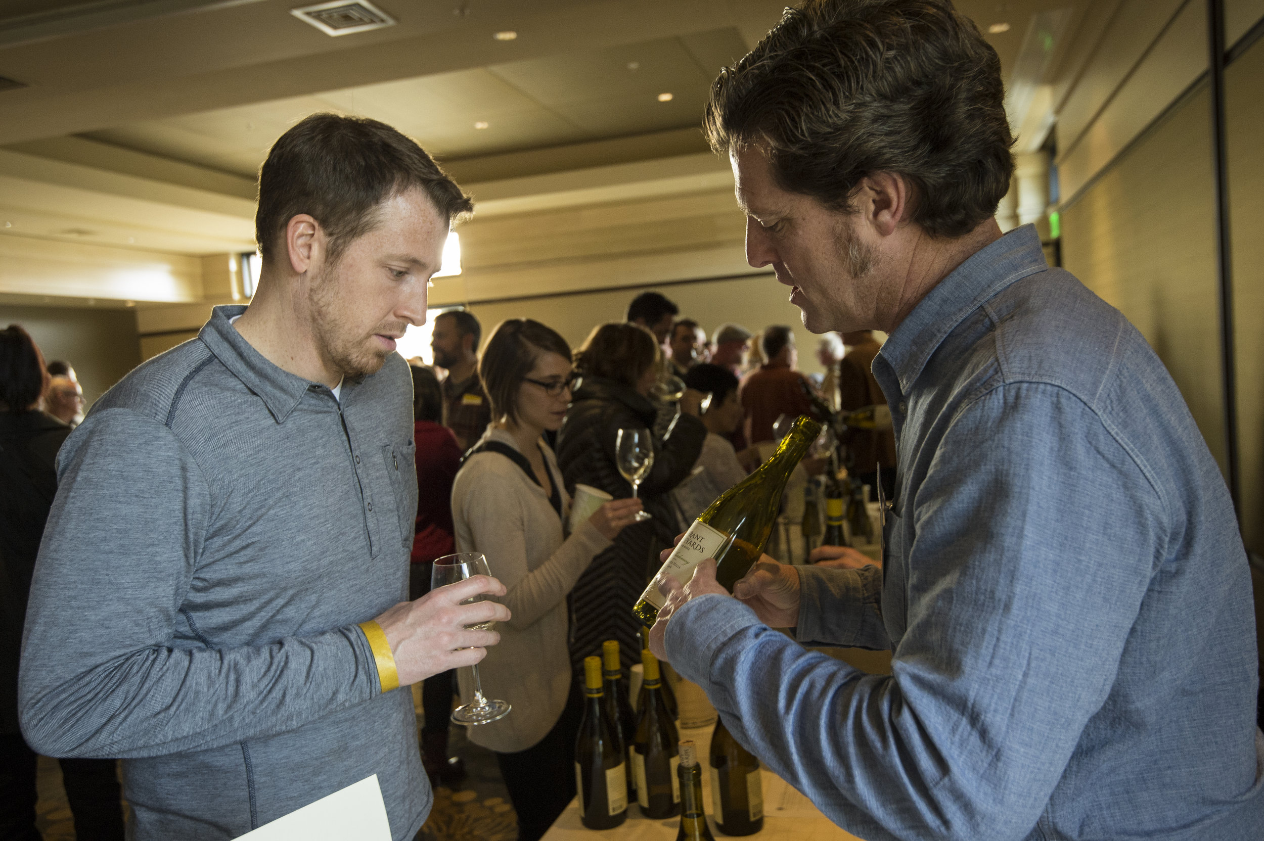 Held at the Allison Inn & Spa, the Oregon Chardonnay Celebration Grand Tasting was an opportunity for consumers to sample exquisite examples from nearly 50 Oregon wineries and talk to local winemakers. ©Andrea Johnson Photography