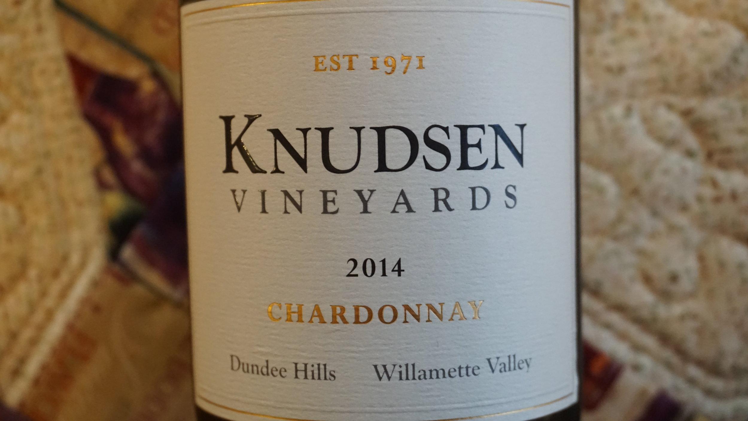 Marked acidity makes this is Knudsen Vineyards 2014 Chardonnay a very food-friendly wine. Viki Eierdam