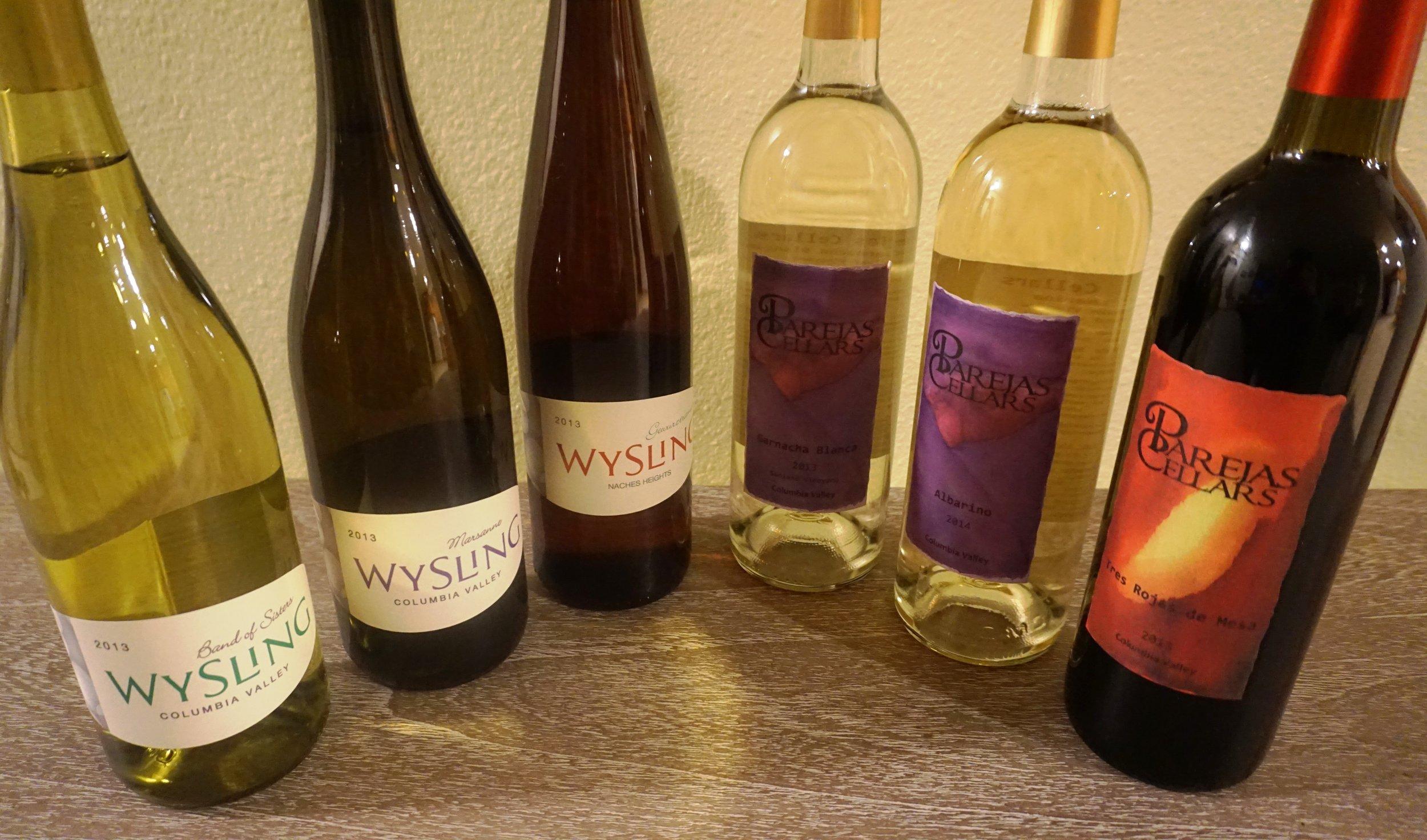 Winemaker, Mark Wysling, focuses on Spanish varietals under the Parejas label and wines outside the Spanish focus with his second label—Wysling. Viki Eierdam
