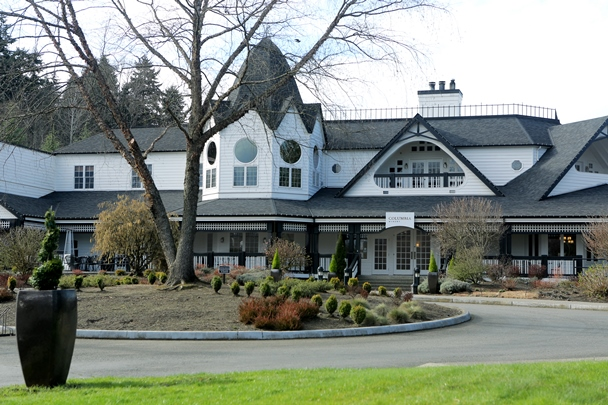 Located 14 miles from downtown Seattle in Woodinville, WA., Columbia Winery's stately exterior has welcomed visitors from all over the world since 1988. All photos courtesy of Columbia Winery.