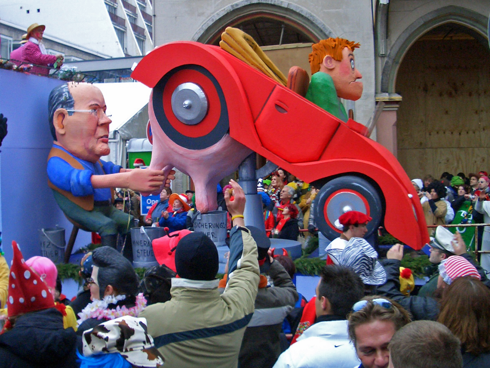 Autokuh - Car Cow in Cologne