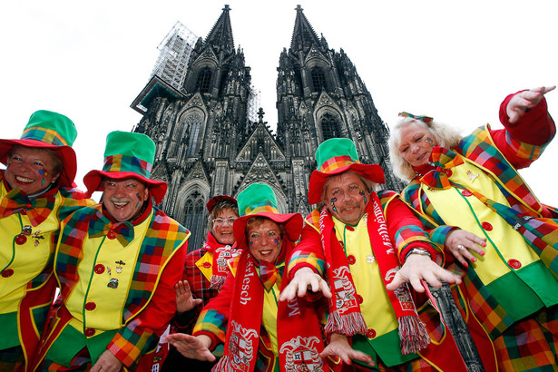 Clowns in Cologne